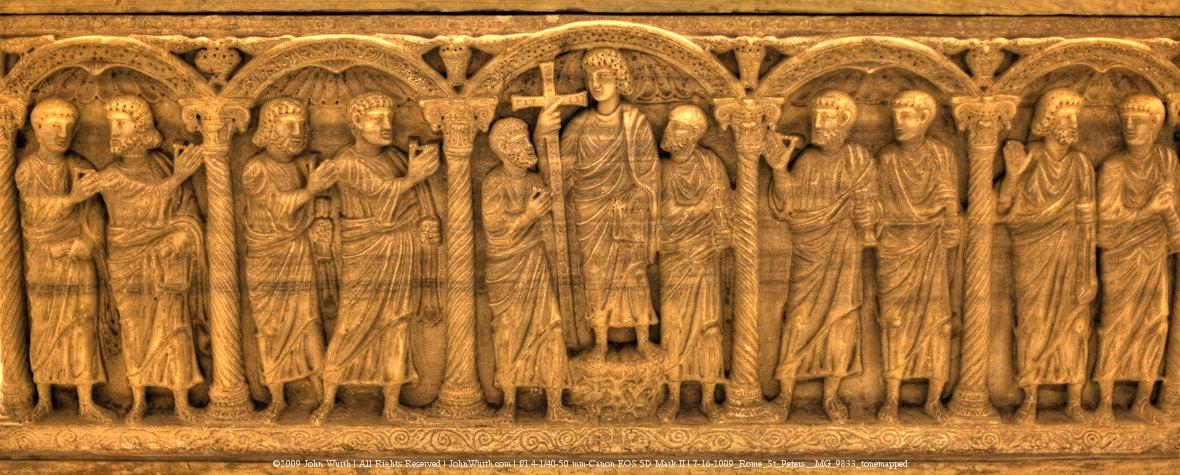 Papal Sarcophogus